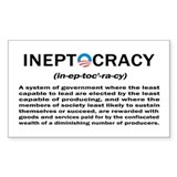 Ineptocracy Decal