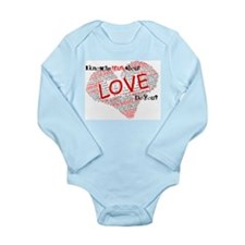 The Truth about Love Long Sleeve Infant Bodysuit