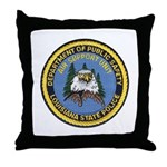 LA State Police Air Unit Throw Pillow
