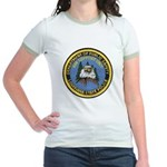 LA State Police Air Unit Jr. Ringer T-Shirt