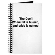 Fat burned, pride earned Journal