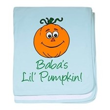 Baba Little Pumpkin baby blanket