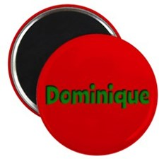 Dominique Red and Green Magnet