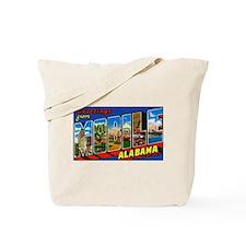 Mobile Alabama Greetings Tote Bag