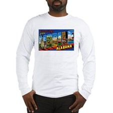 Mobile Alabama Greetings Long Sleeve T-Shirt