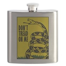 Dont Tread On Me Flask