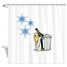 a Toast Shower Curtain