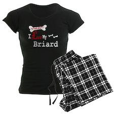 Briard Gifts Pajamas