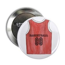 "Basketball Jersey 2.25"" Button"