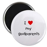 "I love my godparents 2.25"" Magnet (10 pack)"