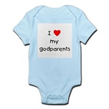 I love my godparents Infant Bodysuit