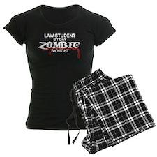Law Student Zombie Pajamas