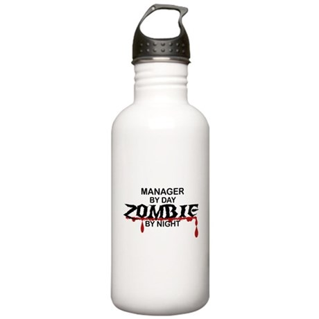 Manager Zombie Stainless Water Bottle 1.0L