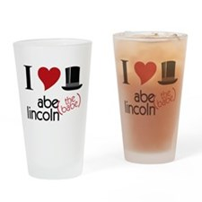 Abe The Babe Drinking Glass