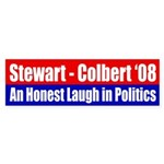 Stewart-Colbert 2008: An Honest Laugh
