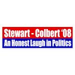 Stewart-Colbert 2008: An Honest Laugh