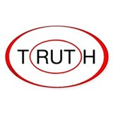 """Rut/Truth"" sticker"