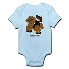 Cute Baby boy horse Infant Bodysuit