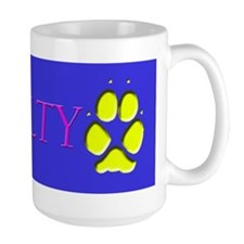 Cute Dog pawprint Mug