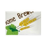 Home Brewer Rectangle Magnet