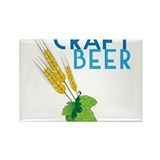 Craft Beer Rectangle Magnet