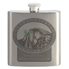Colorado Spring Cannabis Flask