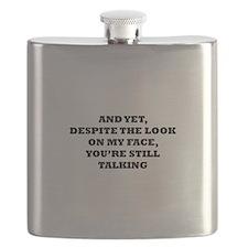 Still Talking Flask