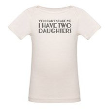 You can't scare me. I have two daughters. Tee