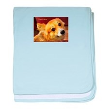 I Support Rescue baby blanket