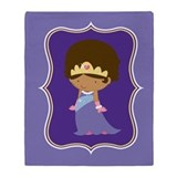 Ethnic Princess Gift Throw Blanket