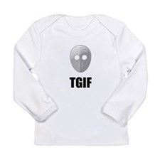 TGIF Jason Hockey Mask Long Sleeve Infant T-Shirt