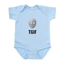 TGIF Jason Hockey Mask Infant Bodysuit