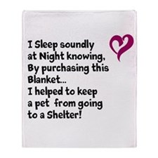 Helpful Heart Throw Blanket