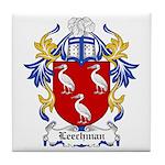 Leechman Coat of Arms Tile Coaster