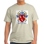Leechman Coat of Arms Ash Grey T-Shirt