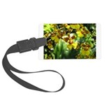 .yellow oncidium. Large Luggage Tag