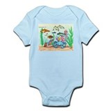 "The ""Beneath The Sea"", Original Drawing Onesie"