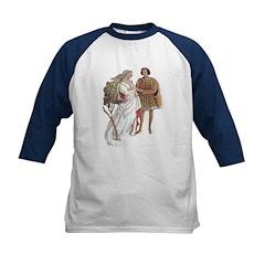 Medieval Love Kids Baseball Jersey