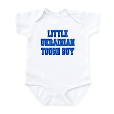 Little Ukrainian Tough Guy Infant Bodysuit
