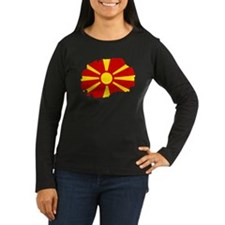 Macedonia map flag T-Shirt