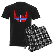 Norway Norse Helmet Flag Design Pajamas