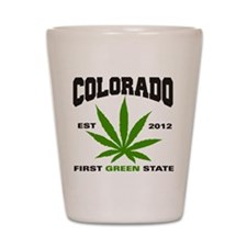Colorado Cannabis 2012 Shot Glass