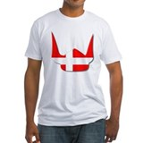 Denmark Dane Helmet Flag Design Shirt