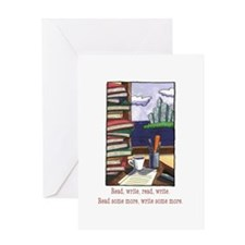 Read Write Greeting Card
