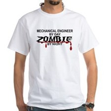 Mechanical Engineer Zombie Shirt
