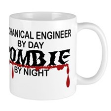 Mechanical Engineer Zombie Mug
