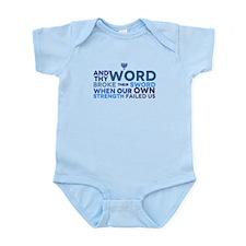 Rock of Ages (Ma'oz T'zur) Infant Bodysuit