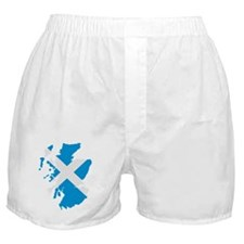 Scotland map flag Boxer Shorts