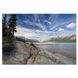 Abraham Lake on the North Saskatchewan River, Jasp