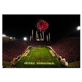 VT Photographs Lane Stadium Football Splendor